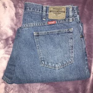 Wrangler Relaxed Fit Jeans 38X34